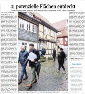 Denkmal-Kunst-Festival im Fachwerkfünfeck @ Duderstadt | Duderstadt | Niedersachsen | Deutschland
